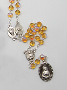 Seven Dolor (Seven Sorrows) Rosary: Yellow(RX325ADY)