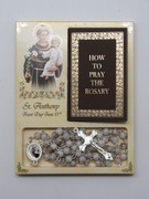 Rosary & Book Set: St Anthony (RX60650)