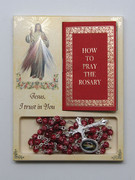 Rosary & Book Set: Divine Mercy (RX60652)