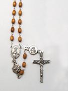 Wood Rosary 6mm Brown (RX4162N)