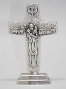Pope Francis' Standing Cross: Good Shepherd 11.5cm (CR100)