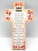 Message Cross: Family Prayer (PL2827FA)
