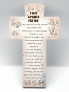Message Cross: I Said a Prayer (PL2827IS)