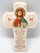 Message Cross: Our Father Icon(CR2859CT)