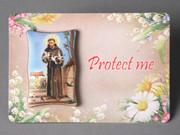 Plastic MINI Plaque: St Francis (PL291112)