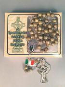 Quality Rosary: Irish Connemara Marble (RX310)