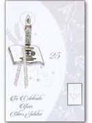 Packet Cards (6): Silver Jubilee Religious Life (CD20478)