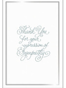 Packet Cards (6): Thank You Sympathy (CD23149)