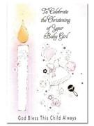 Packet Cards (6): Christening Girl (CD22704)