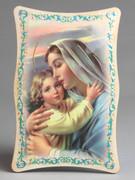 1109 Series Plastic Plaque: Mother & Child (PL110906)