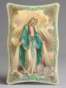 1109 Series Plastic Plaque: Miraculous (PL110907)