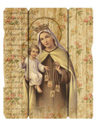 Vintage Frame: Our Lady Mt Carmel (PL20022)
