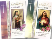 Cards (6) Birthday Religious(CD22137)