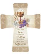 Communion Gift: Porcelain Cross(CR201CM)