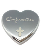 Confirmation Gift: Silver Trinket Box (PLF5531)