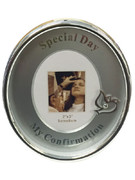 Confirmation Gift: Oval Frame with Dove Motif (PLF5535)
