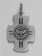 Confirmation Medal: Cross/Spirit (CR367F)