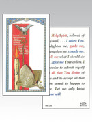 Laminated Holy Card (each): 800 SERIES - Symbol of Confirmation (LC8-135e)