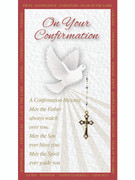 Laminated Holy Card (each): Confirmation (LC30032)