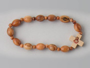 Rosary Bracelet: Wood Stretch (RB02307)