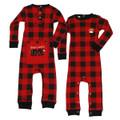 Infant Plaid Flapjacks Onesie Union Suit