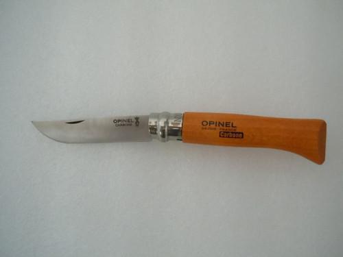 N°08 CARBON STEEL POCKET KNIFE WITH SAFTEY RING