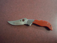 SPYDERCO PERSIAN WITH RED G-10 HANDLE
