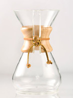 CHEMEX EIGHT CUP CLASSIC SERIES GLASS COFFEE MAKER