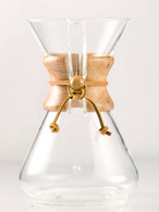 CHEMEX TEN CUP CLASSIC SERIES GLASS COFFEE MAKER