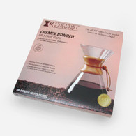 CHEMEX UNFOLDED HALF MOON COFFEE FILTERS