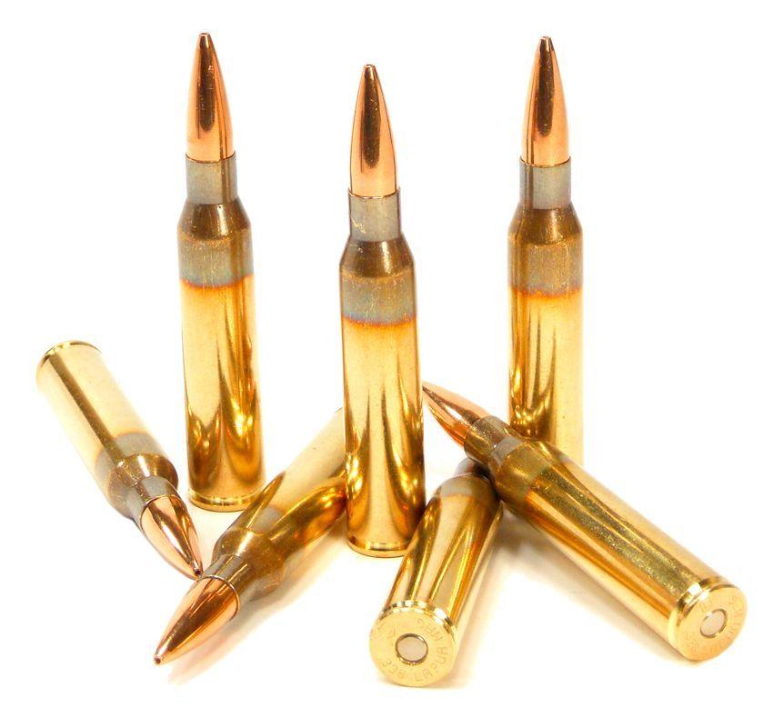 338 Lapua Magnum Ammo 250gr OTM Scenar Lapua 200 Round Can
