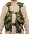 Tactical Load Bearing Vest - Woodland Camo