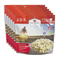 Wise Company Dehydrated Food, Creamy Pasta with Chicken, 6 Packs, 2 Servings Each