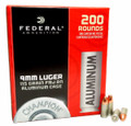9mm 9x19 Ammo 115gr FMJ Federal Champion Aluminum (CAL9115200) 200 Round Box