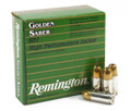 9mm 9x19 Ammo 124gr BJHP Remington Golden Saber Box