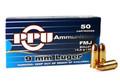 Prvi Partizan 9mm ammo 158gr FMJ