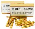 223 5.56x45 Ammo 62gr Federal MK318 MOD-0 barrier defeating 20 Round Box