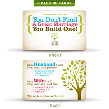 Marriage Building - Prayer Cards (5 pack)