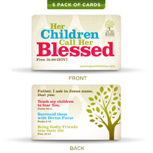 Mother's Prayer Cards (5 Pack)
