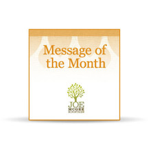 Two Economies (April 2014 Message of the Month)