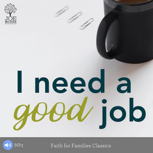 I Need a Good Job - MP3 Series