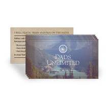 Dads Unlimited Prayer Cards 5-Pack