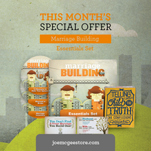 Marriage Building Essentials Set -  [Radio Donation of $35 or More]
