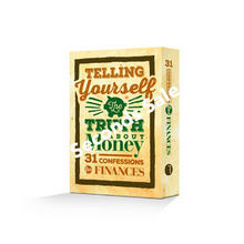 Telling Yourself the Truth About Money [Scripture Card Set] - Seconds Sale