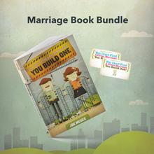 You Don't Find a Great Marriage; You Build One [Book] + 2 Prayer Cards