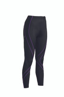 CW-X Womens Pro Tights New 2015 Colour Black / Purple