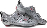 Sidi T2 Ladies Carbon Composite Triathlon Shoe Silver Snake
