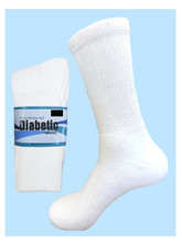 Diabetic Sock White Men's