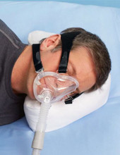 CPAP Pillow Small Cresent Shaped