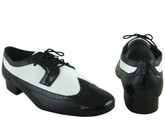 The Classic Black and White (fully leather) - Tango Shoes